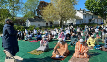 Eid congregations held in mosques, churches and fields in USA