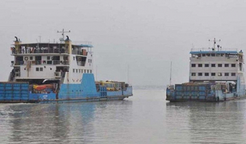 Banglabazar-Shimulia ferry services suspended