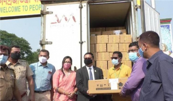 First emergency medical aid from Bangladesh goes to India