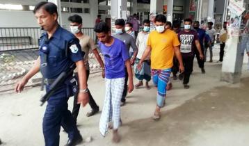 Shitalakkhya launch capsize: 5 staff put on remand