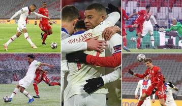 PSG defeats Bayern Munich 3-2