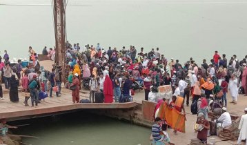 Passengers suffer as ferry services suspended at Paturia ghat