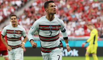 Ronaldo becomes record scorer as Portugal beat Hungary