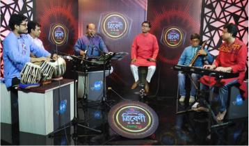 Salauddin Ahmed to sing in 'Tribeni' tonight on Nazrul's birthday