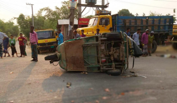 Five killed in Sylhet road accident