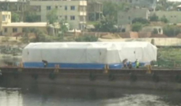 First coach set of Metro Rail arrived in Dhaka