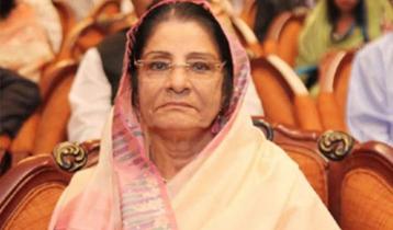 Raushan Ershad hospitalized