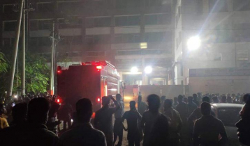 Fire at Gazipur textile mill
