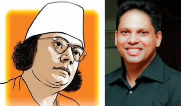 Kazi Nazrul Islam revered in Mahbubul Khalid's song