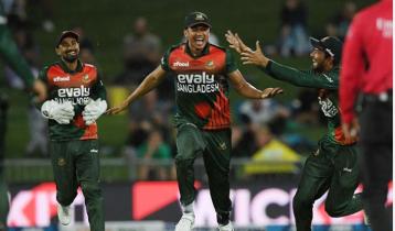 Bangladesh need 170 in 16 overs