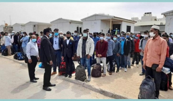 160 stranded Bangladeshis return home from Libya