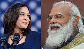 Kamala Harris calls Narendra Modi