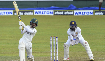 Mominul smashes 14th fifty while Shanto maiden ton