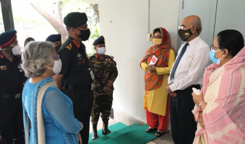 Indian Army Chief visits Bangabandhu museum