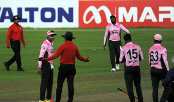 Shakib banned for 3 matches, fined Tk 5 lakh