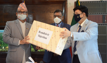 Bangladesh provides Remdisivir injection to Nepal