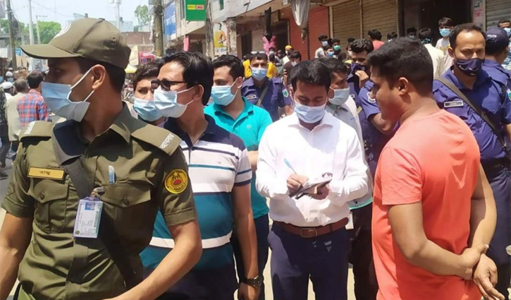 130 people fined for flouting health rules in Sirajganj