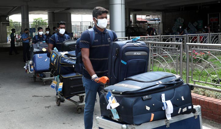 All Sri Lankan players test Covid-19 negative