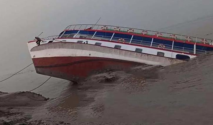 Launch capsized in Shitalakshya