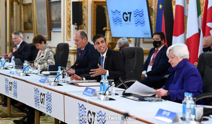 G7 countries reach deal to tax big multinationals