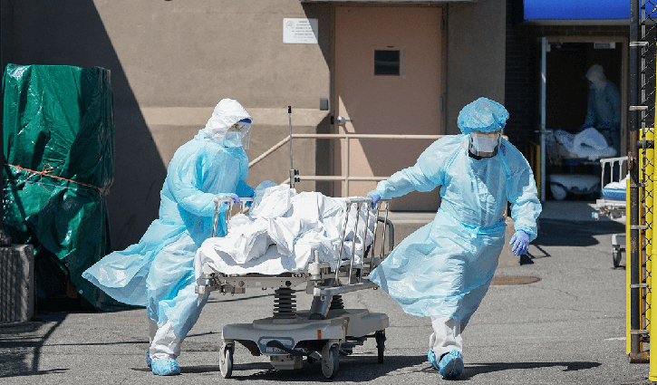 Global death toll from coronavirus exceeds 34 lakh