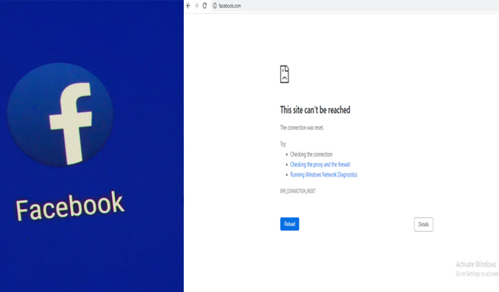 Users fail to access Facebook in Bangladesh