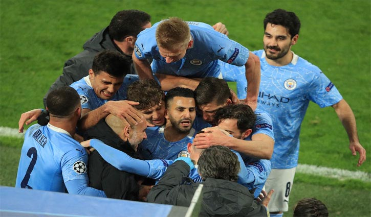 Man City into semi-finals after six years