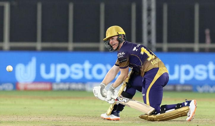 Morgan helps Kolkata to win against Punjab