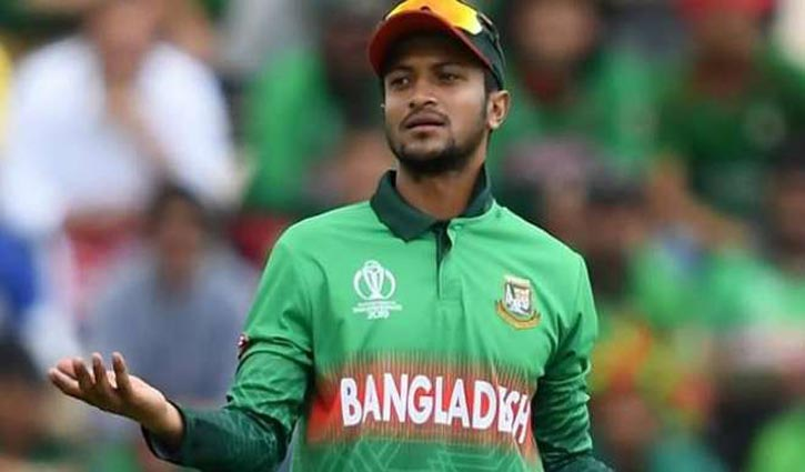 Shakib diagnosed with coronavirus negative in first test