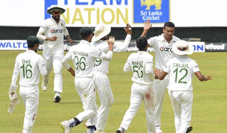 Sri Lanka declare 1st innings at 493 against Bangladesh