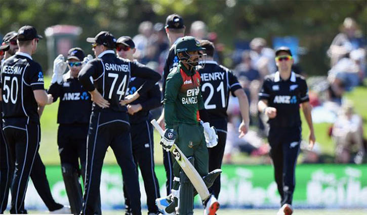 New Zealand beat Bangladesh by 164 runs