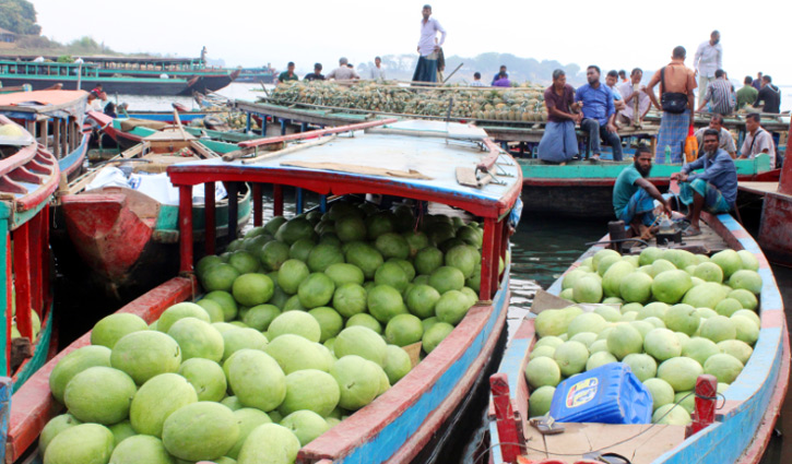 রাঙামাটিতে তরমুজের বাম্পার ফলন, বেচাকেনাও ভাল