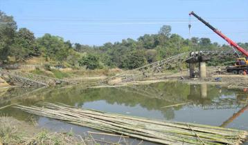অবশেষে রাঙামাটির কুতুকছড়িতে নির্মিত হচ্ছে পাকা ব্রিজ
