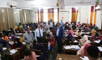 মাভাবিপ্রবিতে 'বি' ইউনিটের ভর্তি পরীক্ষা অনুষ্ঠিত
