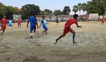আন্তর্জাতিক ইশারা ভাষা দিবস উপলক্ষে বধিরদের প্রীতি ফুটবল ম্যাচ