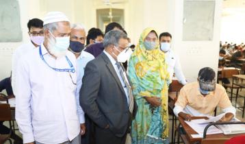 যবিপ্রবিতে গুচ্ছ ভর্তির 'বি' ইউনিটের পরীক্ষা সম্পন্ন