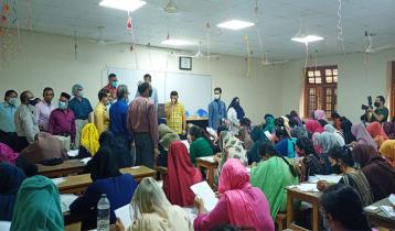 জবিতে গুচ্ছ 'বি' ইউনিটের ভর্তি পরীক্ষা অনুষ্ঠিত