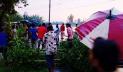 তীব্র স্রোতে সড়কে ভাঙন, কাকিনা-রংপুর যোগাযোগ বিচ্ছিন্ন