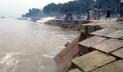 পদ্মায় ফের ভাঙন, হুমকিতে রাজবাড়ী শহররক্ষা বাঁধ