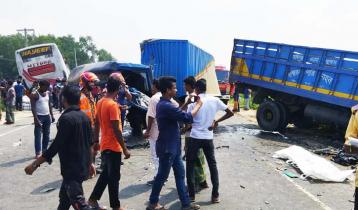 ঢাকা-টাঙ্গাইল-বঙ্গবন্ধু সেতু মহাসড়কে দুর্ঘটনায় নিহত ২