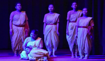 শেরপুরে মুজিববর্ষ উপলক্ষে 'যতদূর বাঙালি, ততদূর জনক' নাটক মঞ্চস্থ