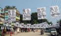 প্রচার-প্রচারণায় মুখর ঘোড়াশালের পাড়া-মহল্লা