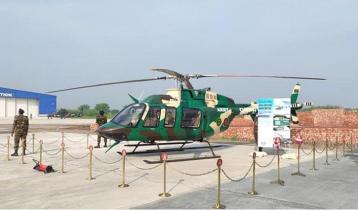 সেনাবাহিনীর চট্টগ্রাম বেইজে যুক্ত হলো দুটি অত্যাধুনিক হেলিকপ্টার