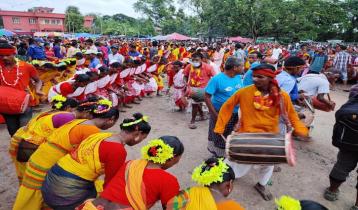 ধামইরহাটে ঐতিহ্যবাহী কারাম উৎসব