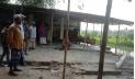 নাটোরে ঝুঁকিপূর্ণ মসজিদে নামাজ আদায়