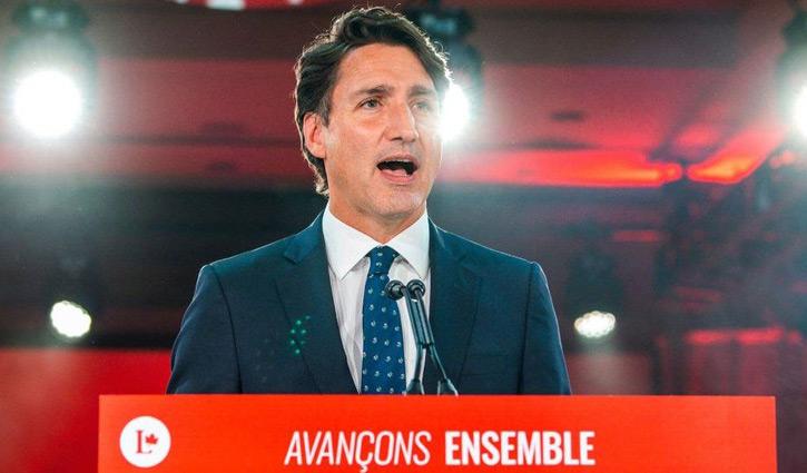 Trudeau narrowly wins third term as PM