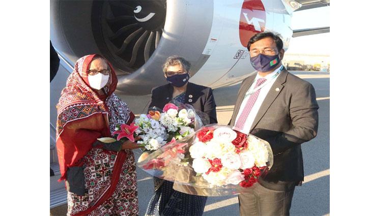 Prime Minister Sheikh Hasina in New York