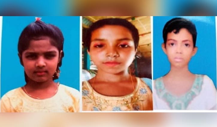 Missing three madrasa girls rescued