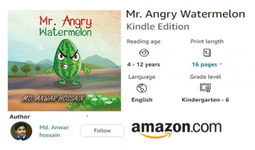 Amazon releases Anwar`s new book `Mr Angry Watermelon`