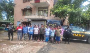 17 members of illegal gas supply racket held